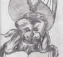 teddy bear reading by daniel lamb
