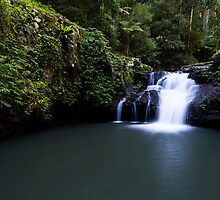 """Wongaree Falls"" ∞ Lamington National Park, QLD - Australia by Jason Asher"