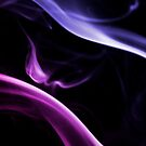 Pink and Purple Smokey Wisps by Handy Andy Pandy