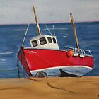 Little Fishing Boat by Karl Connolly