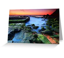 Mossy Rocks Greeting Card