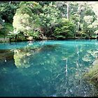 Blue Lake at Jenolan Caves by kcy011