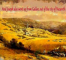 And Joseph also went up from Galilee by Dennis Melling