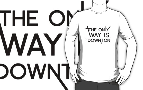 THE ONLY WAY IS DOWNTON by SallySparrowFTW