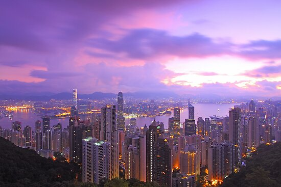 Hong Kong morning  by kawing921