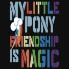 My Little Pony FiM Rainbow Dash themed t-shirt! by Gqualizza