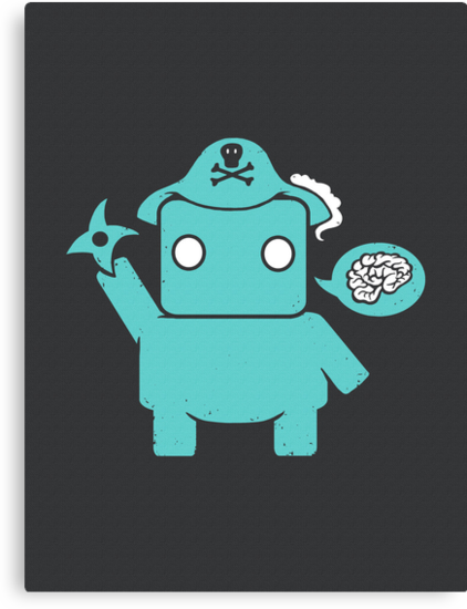 Ninja, Pirate, Robot, Zombie by BootsBoots