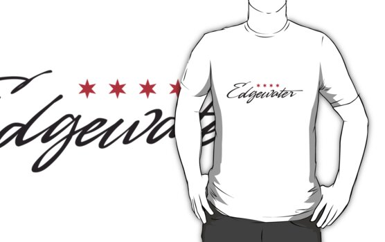 Edgewater Neighborhood Tee by Chicago Tee
