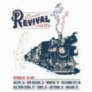 Railroad Revival Tour T-Shirt Art by CaptureToday