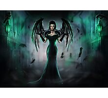 Wings of the dark Raven Photographic Print