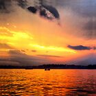 Norwalk Island Sunset by Christine &quot;Xine&quot; Segalas