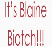 Darren Criss Glee Its Blaine Biatch by rachick123