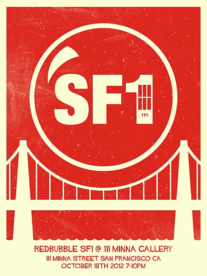 Redbubble SF1 Minimalist Poster by DREWWISE
