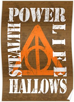 Deathly Hallows (P.L.S.H) WHITE / ORANGE by Styl0