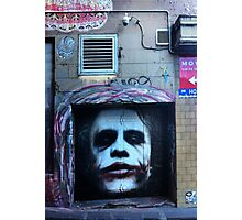 Heath Ledger as the Joker Photographic Print