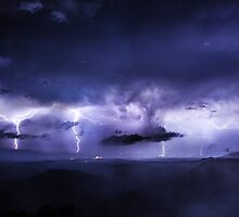 Lockyer Valley Lightning by Tim Swinson