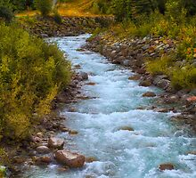 Glacial Creek - Whistler - B.C. by Yannik Hay