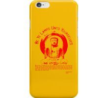 Be Ye Lamps(Punk'd up a knotch)alt color iPhone Case/Skin