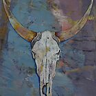 Steer Skull by Michael Creese