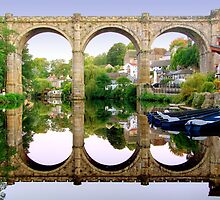 Knaresborough Reflections by Colin J Williams Photography