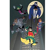 Teen Titans Photographic Print