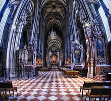 St Stephen's Cathedral, Vienna, 12th Century by Wendy  Rauw