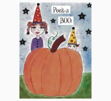 Peek A Boo Halloween Elves by whimsyways