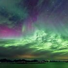 Green & Purple sky by Frank Olsen