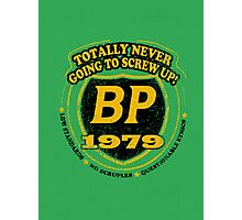Retro BP Shirt Photographic Print