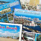 American Postcards of states by Sweetpea06
