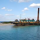 Old boat in the Bahamas by Sweetpea06