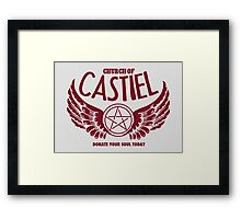Castianity Framed Print
