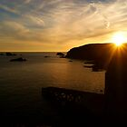 Sunset Over The Lizard by Brianicus