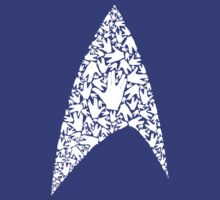 Live long and wear the Starfleet insignia by Frax Van Norton