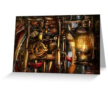 Steampunk - Mechanica  Greeting Card