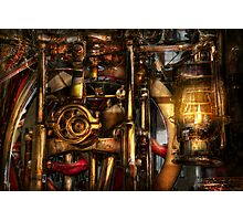Steampunk - Mechanica  Photographic Print