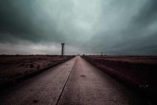 Concrete Road by Nigel Bangert