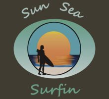 Sun sea & surfin by Chris-Cox