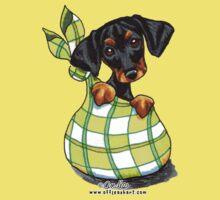 Doberman Sack Puppy by offleashart