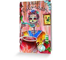 Chile Colorado Greeting Card