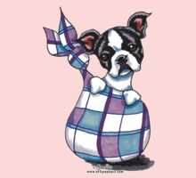 Boston Terrier Sack Puppy by offleashart