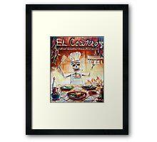 El Cocinero Framed Print