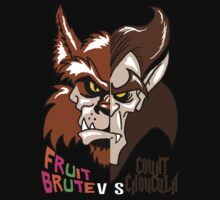 Fruit Brute vs Count Chocula by monsterfink