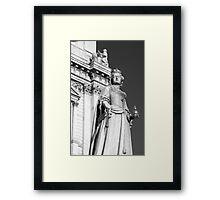 Queen Anne 1 B&W Framed Print
