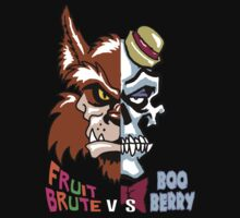 Fruit Brute vs Boo Berry by monsterfink