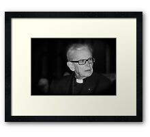 In principio Deus. Framed Print
