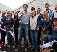 Olympic & Paralympic medal winners open the PSP Southampton boat show 2012 by Keith Larby
