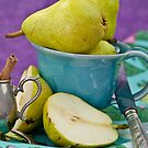 Pears & Cinnamon by Barbara Neveu