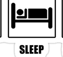 Eat Sleep Protect Gotham Sticker