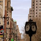 Clock in Broadway by Federica Gentile